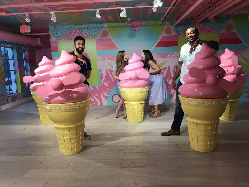engagement museum of ice cream